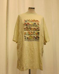 T-skjorte med soppmotiv